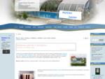 Bazény - vnitřní a venkovní bazény, zastřešení bazénů, plachty, chemie do bazénů, sauny