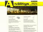 A-välitys on Turun alueella toimiva täyden palvelun kiinteistönvälitysyritys. V