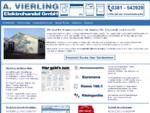 A. Vierling Elektrohandel GmbH Hausgeräte Ersatzteile Zubehör Fachhandel