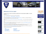 Welcome to A1 Car Loans - A1 Car Loans - Car Loan and Car Finance Experts