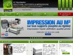 A2 Signalisation - Société d'impression numérique grands formats sur tous supports, création graphi