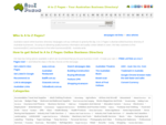 A to Z Pages Business Listing Directory