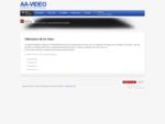 Installation och hyra av projektor och ljudanläggningar - AA-Video Linköping