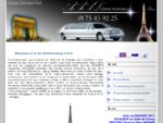 Location limousine Paris - Voiture Mariage Prestige avec chauffeur Ile de France - Balade Soirée voi