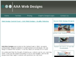 Web Designer Central Coast AAA Web Designs - Honest and affordable website development packages f