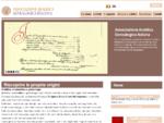 Araldica genealogia storia familiare ricerche