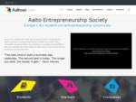 Aaltoes. com - Aalto Entrepreneurship Society