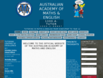 Home - Australian Academy of Maths and English | Tutoring and school tuition for English, Maths,