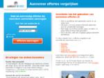 aannemer-offertes. nl - Gratis offertes van aannemers vergelijken