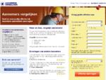 aannemers-vergelijken. nl - Vergelijk de kosten van aannemers voor verbouwing of renovatie.