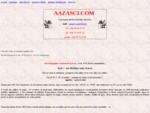 Page d'accueil de aazasci.com