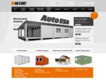 Stavebnà a obytné buňky, skladové kontejnery, prodej, pronà¡jem, použàté kontejnery - AB-Con