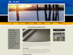 Firma AB–PLAST se specializuje na průmyslové podlahy, lité podlahy, antistatické podlahy, epoxid