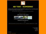 AB taxi Komárno