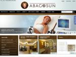 ABACOSUN - Strona Główna - solaria, urządzenia kosmetyczne, kosmetyki. Wyposażanie salonów k
