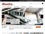 Abadia | Vyrábíme ocelové konstrukce, zámečnické prvky, závěsné balkony a technologická zařízení.