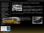 Autocares Abagon es una empresa de transporte y alquiler de autobuses, autocares y microbuses con c