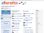 Annunci gratuiti di scambio e baratto oggetti | aBaratto. com