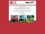 ABC Materieludlejning ABC Biludlejning ABC Maskinudlejning Handel med parkmaskiner-Parktraktorer o