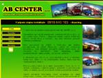 AB CENTER s. r. o. - vysokozdvižné plošiny - domovská stránka