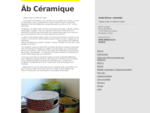 Anaïs Brizon, céramiste quot;Objets utiles et utilité de l039;objetquot; ...