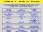 plombier chauffagiste 91 Essonne, installateur chauffage gaz, fioul, pompe a chaleur