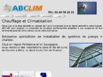 Chauffages, climatisations, Pompe a chaleur, aérothermie, géothermie. AB Clim, Essonne Val de