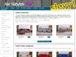 Akční nabídka nábytku na eshopu | ABC Nábytek - Prodáváme sedací soupravy, nábytek z masivu, poho