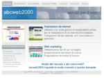 abcweb2000, Milano, web marketing, creazione siti web, cdrom, cataloghi su cd-rom, web marketing, ...