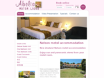 Nelson Motel Accommodation Abelia Motor Lodge Accommodation at New Zealand motel accommodation - A