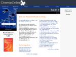 ChemieOnline - Forum für Chemie und weitere Wissenchaften, Informationen und Wissen