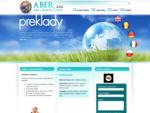 ABER, s. r. o. | kvalita, diskrétnosť a rýchlosť... | Testovacia