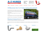 A-Z Huber Gebäudeunterhalt | Ablaufreinigung Rünenberg, Bärschwil, Basel, Gelterkinden, Sissach