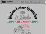 Die erste Abi Homepage des NKG online seit 1996