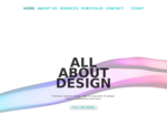aboutblank - Website design. Logo Corporate ID design. Print design.