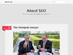 Aboutseo. gr is obviously an SEO blog. Generally, it039;s a well known greek blog about SEO, Se