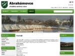 Obec Abrahámovce | Oficiálne stránky obce | Kontakt