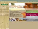 Abri de La Romagne - Fabricant abri bois et sur mesure - Abri de jardin, préau, et terrasse de mob