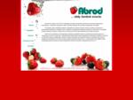 Pestovanie a predaj ovocia - jahody, maliny, èuèoriedky