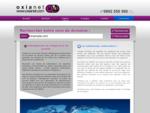 OXIANET apporte les solutions pour site web  nom de domaine, hébergement mutualisé, serveur déd...