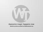 Webhosting je aktivní