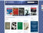 Nakladatelství Academia - úvodní stránka