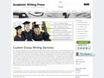 Academic Writing Press
