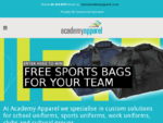 Academy Apparel – Custom made school uniforms, sports uniforms and dye sublimation