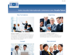 Acadia Talent - formation, coaching, conseil, recrutement
