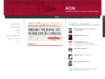 ACAI - Associaà§à£o de Empresas de Consultoria e Avaliaà§à£o Imobilià¡ria formada por oito consultor