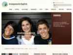Acampamento Baptista | da Convenà§à£o Baptista Portuguesa