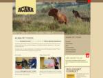 Välkommen till Acana Sverige. Vi tillagar Biologiskt Korrekt hund- och kattmat av färska lokala ing