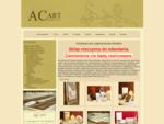 Firma ACART oferuje artystyczne, rÄcznie robione zaproszenia ślubne, kartki okolicznościowe, za