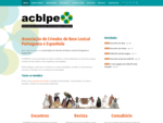 Associação de Crioulos de Base Lexical Portuguesa e Espanhola | Início